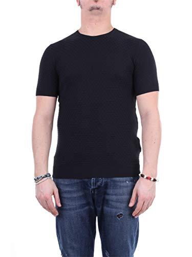 PAOLO PECORA A040F103 - Collar para Hombre Negro S