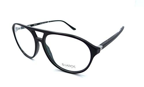 Starck Eyes Occhiali da Vista 0SH3028 CRYSTAL BLACK MATTE BLACK 57/14/145 uomo