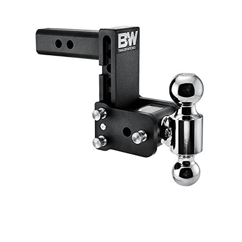 B&W Tow & Stow - Fits 2' Receiver, Dual Ball (2' x 2-5/16'), 5' Drop, 10,000 GTW - TS10037B