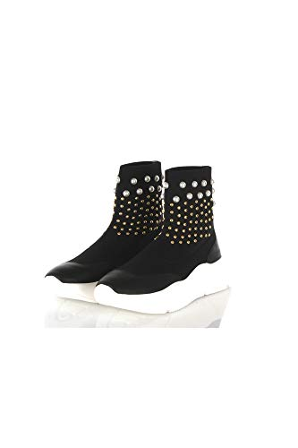 Twinset Donna Sneakers Slip On Nero Mod. 39