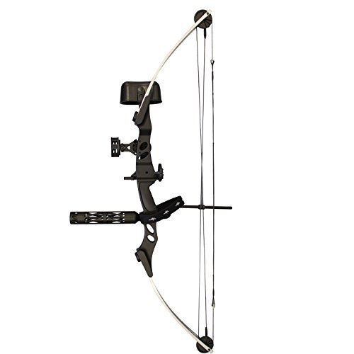 Siege SAS 55 lb 29'' Compound Bow w/ 5-Spot Paper Target...