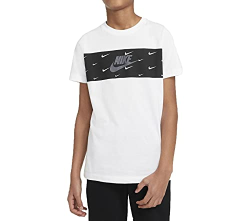 Nike Camiseta DC7524100 para niño, color blanco blanco S/M