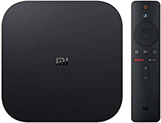 Xiaomi MiJia Mi Box S, Versión de la UE, Reproductor de Medios 4K Ultra HD con Control Remoto Asistente de Google, Bluetooth, Hdmi 4K HDR, Dolby Audio, DTS HD, Android 8.1, Negro