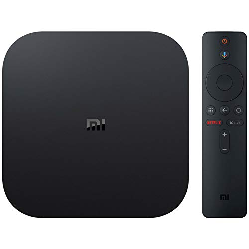 Xiaomi Mi Box S Lecteur multimédia 4K Ultra HD avec télécommande Google Assistant, Bluetooth, HDR 4K, Audio Dolby, DTS HD, Android 8.1