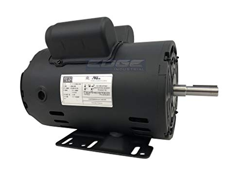 """NEW 3HP Electric Motor for air Compressor 3455 RPM 5/8"""" Shaft 14.7 AMP 56 FRAME Heavy Duty"""