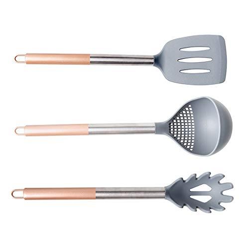 Cuchara Set de utensilios de nylon de 3 piezas - Cucharón m
