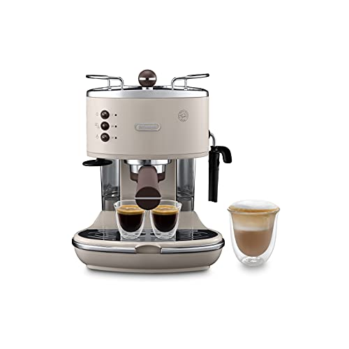 De'Longhi Icona Vintage Traditional Pump Espresso Coffee Machine ECOV311.BG