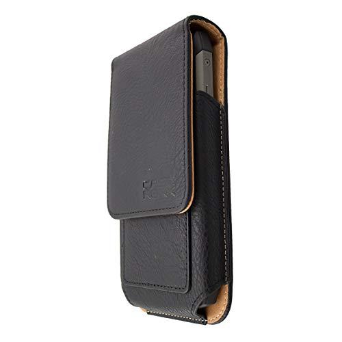 caseroxx Handy Tasche Outdoor Tasche für AGM A8 / A8 SE, mit drehbarem Gürtelclip in schwarz