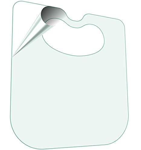Large Ergonomic Slit Lamp Breath Shield Sneeze Protector Cough Guard, PETG Polycarbonate Non-Fragile Flexible, Made in USA