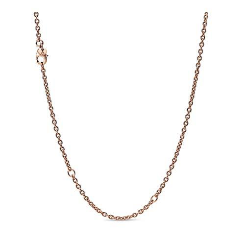 Pandora Damen-Kette ohne Anhänger Silber_vergoldet 388574C00-60