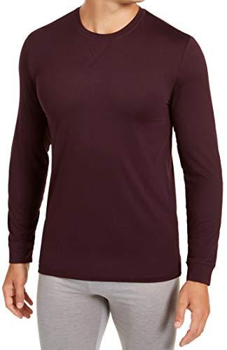32 DEGREES Mens Activewear Medium Workout Base Layer Tee Purple M