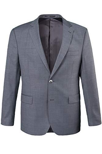 JP 1880 Herren große Größen bis 72, Sakko Pan FLEXNAMIC®, Premium-Baukasten, Schnurrwoll-Qualität, knitterfrei grau 31 702887 12-31