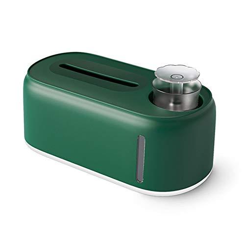 FA.cbj3 Caja de pañuelos humidificadores, dispensador de pañuelos, Organizador de Almacenamiento en el hogar, Soporte para pañuelos Secos y húmedos, removedor de Maquillaje, servilletero (Verde)