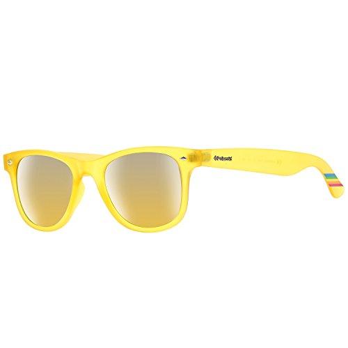 Gafas de pasta amarillas marca Polaroid