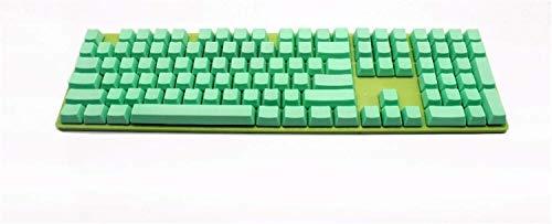 Bisheep Accesorios de teclado en blanco de 108 teclas ISO...