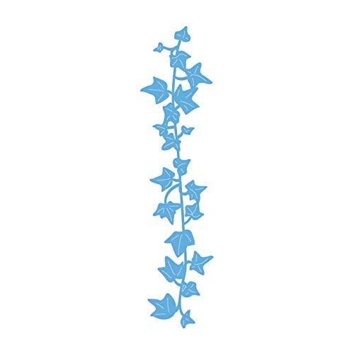Marianne Design Troqueles con Diseño Hedera, Metal, Azul, 18.5x8.4x0.2 cm