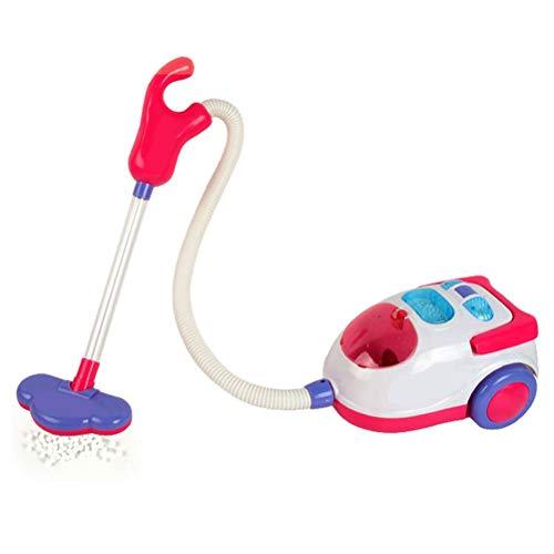 Ourine Staubsauger Spielzeug, Elektro-Staubsauger Spielzeug für Kinder Leichte Haushaltsreiniger Tool Spielzeug bunt