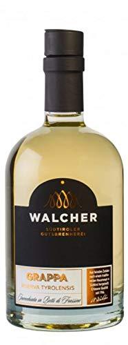Grappa Riserva Tyrolensis gelagert im Eschenfass 40% 50 cl. - Brennerei Walcher