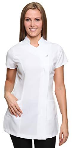 Damen Berufsbekleidung Kasack Freya Weiß Gr. 38