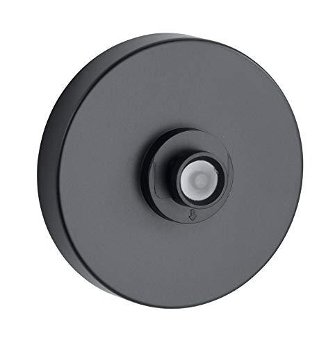 WENKO Vacuum-Loc® Adapter - Befestigen ohne bohren, 6 x 2.8 x 6 cm, Schwarz