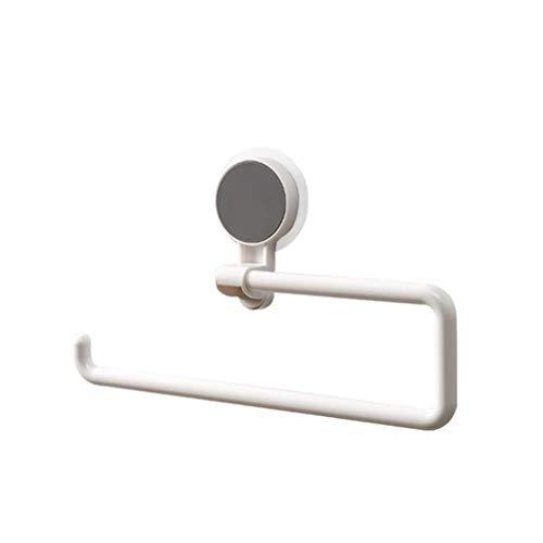 unknow Rizihao - Estante para rollos de papel de cocina, soporte para toallero, ahorro de espacio, accesorio de decoración de baño
