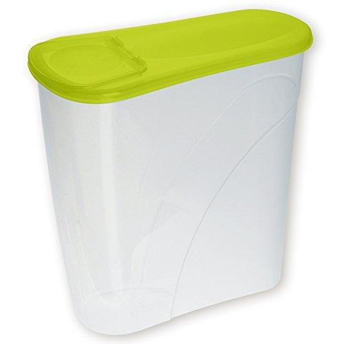 Plast Team Corn Flakes Box, 3.5 l, Citron Vert Punch, Taille Unique