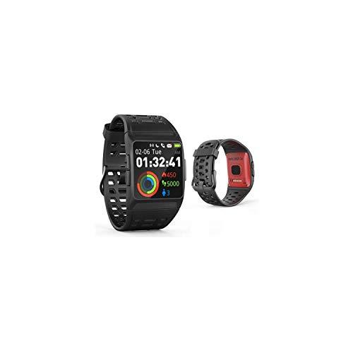 Wee'Plug Explorer 3S Red GPS Smartwatch für Erwachsene, Unisex, Rot, Einheitsgröße