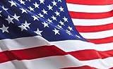 Q&J Bandera Oficial de Estados Unidos EEUU. - Medidas 150 x 90 cm. - 100%...
