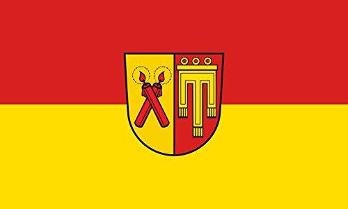 Unbekannt magFlags Tisch-Fahne/Tisch-Flagge: Kirchdorf an der Iller 15x25cm inkl. Tisch-Ständer