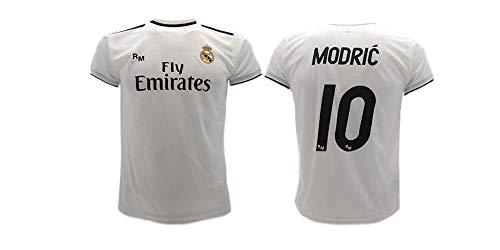 Real Madrid Luka Modric Fußball Trikot Offizial Kinder Junge Manner 2018-2019 (10 Jahre)