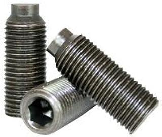 Quantity: 25 Thermal Black Oxide - Grub-Blind-Allen-Headless Screw Alloy Steel Thru-Hardened 3//4-10 x 2 Set Screws Square Head