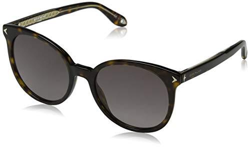 Givenchy GV 7077/S 3X 086 Gafas de sol, Marrón (Dark Havana/Pink), 54 para Mujer