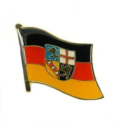 Flaggen Pin Saarland Pins Anstecknadel Fahne Flagge FLAGGENMAE®