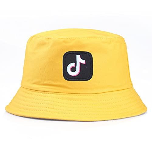 Sombrero de Cubo de algodón de Verano Patchwork Graffiti Hombres Mujeres al Aire Libre Hip Hop Sombrero de Pescador Plegable Sombrero de Viaje Informal Gorros-a19-56-58cm