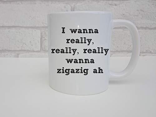N\A Taza de Spice Girls (11 oz) Wannabe I Really Wanna zigazig ah