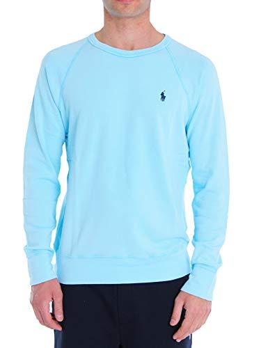 Ralph Lauren Mod. 710644952 Sweatshirt Rundhals Magic Herren Hellblau XL