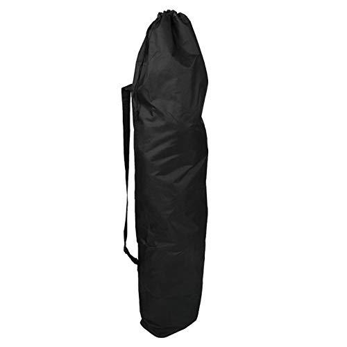 DAUERHAFT 120 * 30 * 15CM wasserdichte 600D Oxford Stoff Faltbare Longboard Tasche, verstellbare Skateboard Tasche, Leichter Longboard Rucksack, für Longboard und Skateboard innerhalb von 46 Zoll.
