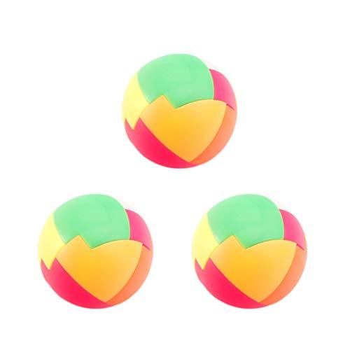 HeiHeiDa Intelligenz Ball Puzzle Magic Ball Denksportaufgaben Spielzeug Intelligenzspiel Intellektuelle Montagefans, Ihr Kinderpuzzle, Bausteine einfügen, Spielzeug, Jungen, nostalgische Klassiker