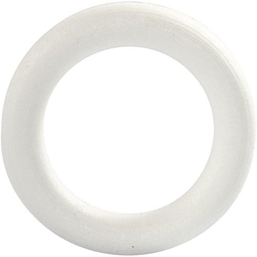 Anello, dimensione esterna 12 cm, spessore 20 mm, polistirolo, 1pc