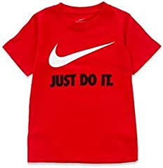 Nike Camiseta Rojo para Niño - Just Do It