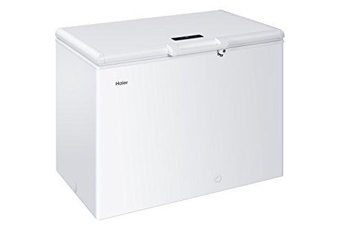 Haier HCE221T Gefriertruhe / A+++ / 85,5 cm Höhe / 119kWh/221 L Nettoinhalt /Innenbeleuchtung /Elektronische Temperatursteuerung/ Super Gefrierfunktion