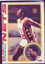 1978 Topps Regular (Basketball) Card# 75 Bernard King of the New Jersey Nets Ex Condition