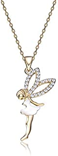 Mestige Fairy Dust Necklace with Swarovski® Crystals, Pearl, Gift