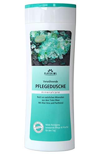 PLANTACOS - Pflegedusche mit Mineralien aus dem Toten Meer bei trockener Haut, Duschgel mit Aloe Vera und Panthenol 300 ml (1)
