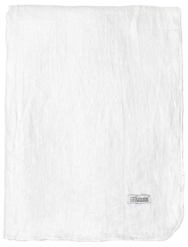 broste Copenhagen Tischdecke, Weiß, 160 x 200