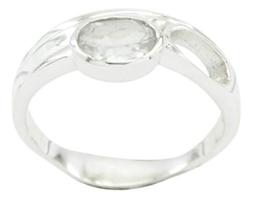 riyo L Argento sterlina del Commercio all Ingrosso 925 Che incanta l anello Bianco Genuino Lo dà