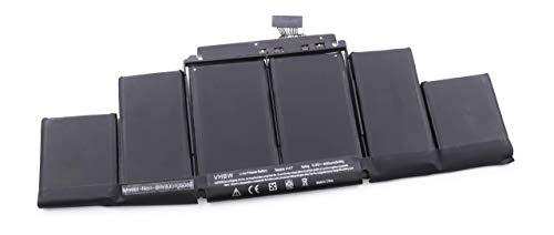 vhbw Batterie 8600mAh pr Notebook Apple MacBook Pro Core i7 2.3 15\