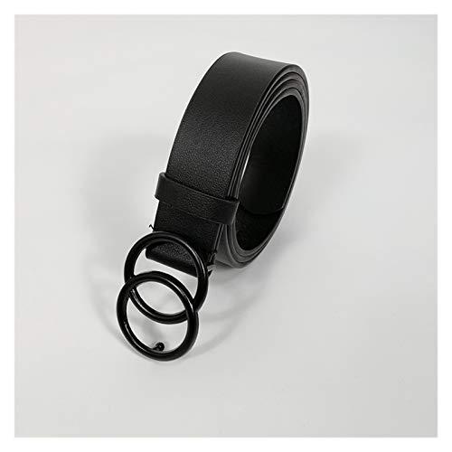 Without logo SFQRYP Courroies de Designer pour Femmes Courroie de Haute qualité pour Femmes avec Strass (Belt Length : 105x2.8 cm, Color : G Belt)