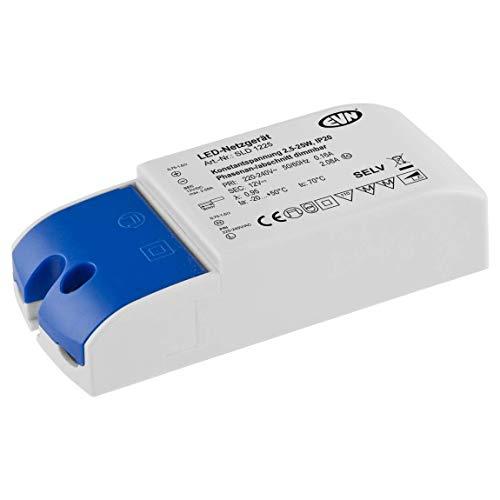 EVN Lichttechnik Netzgerät SLD1225 12V/DC 3-25W IP20 LED-Betriebsgerät 4037293004862