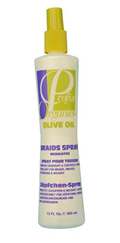 Profix Organics Olive Oil Braids Spray Medicated 355ml